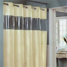 Clear Vinyl Shower Curtains Designs Hookless Beige Vision Vinyl Shower Curtain Bathroom Renovation