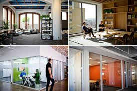 at one tech u0027s hottest startups a huge office aims small