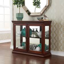 Kitchen Wall Display Cabinets Curio Cabinet Marvelous Small Table Topio Cabinet Pictures