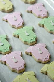 baby shower cookies onesie and elephant baby shower cookie tutorial sweetopia
