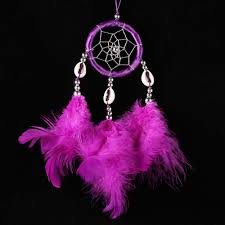 online get cheap dreamcatcher home decoration purple aliexpress