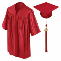 cap and gown graduation preschool graduation announcement gradshop