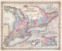 Map Of Ontario 1880 Map Of Ontario Counties Mcgill University Research