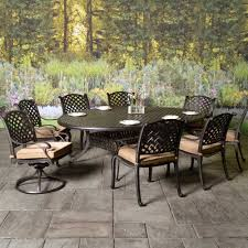 Best Price Cast Aluminum Patio Furniture - outdoor patio furniture stonegate cast aluminum cushioned patio