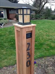 light post with address sign solar light posts for driveways healthcareoasis