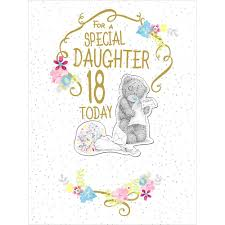 18th birthday daughter large luxury me to you bear card 4 25