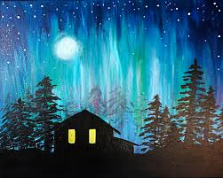 how to paint northern lights lobby the lounge mississauga 01 28 2018 paint nite event