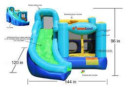amazon com ultimate combo bounce house toys u0026 games