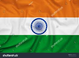 Flag If India Fabric Texture Flag India Stock Illustration 133239521 Shutterstock