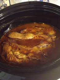 crockpot bbq spare ribs boneless country style spare ribs and one