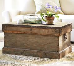 Chest Coffee Table Wood Chest Coffee Table Pottery Barn Chest Trunks For