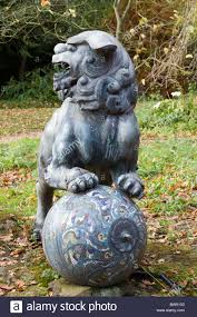 foo dog sculpture foo dog sculpture on stock photo royalty free image