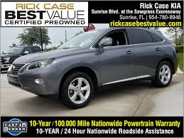 lexus of east kendall rick case portal pre owned inventory