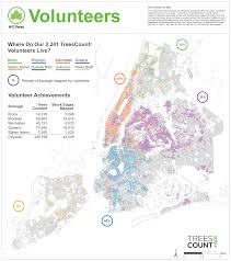 New York Street Map App by Treescount 2015 Nyc Parks