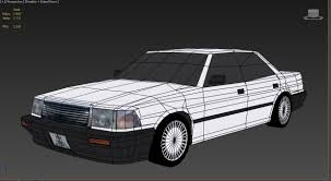 toyota crown 3d model toyota crown cgtrader