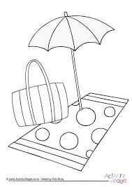 tropical beach coloring pages seaside colouring pages