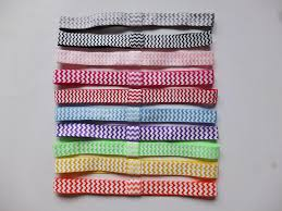 elastic hair bands printed foe headbands 16mm elastic hair band hairband dots