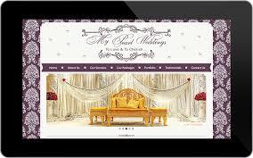 wedding planning website website design portfolio professional graphic and website