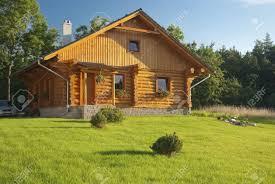 old fashioned house czech republic jiloviste august 20 2010 old fashioned cabin