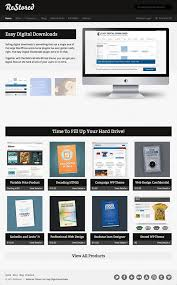 15 best wordpress themes for selling digital products 2017 athemes