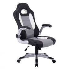 White Leather Office Chair Canada Racing Office Chair Ebay