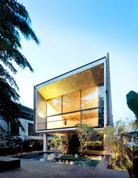 home design magazine facebook wood greenery and light emphasizing luxury in sentosa house by