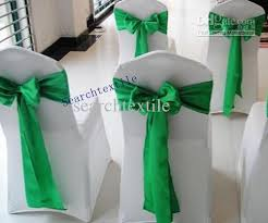 Green Chair Covers 12 White Wedding Chair Covers Carehouse Info