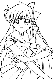 sailor mars coloring pages to print 208