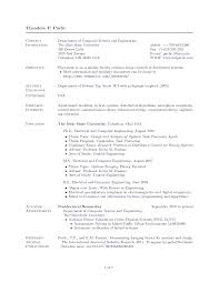sle of resume word document cv computer science doc yralaska com
