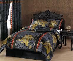 California King Comforters Sets Bedroom California King Comforter Sets With Double Standing Lamp