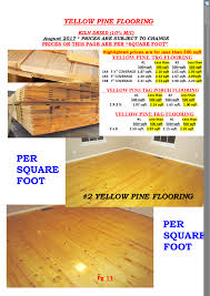 500 Sqft Cline Lumber U003e U003ewide Plank Pine Flooring