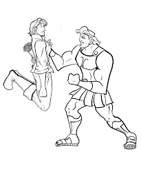 hercules coloring pages coloringsuite com
