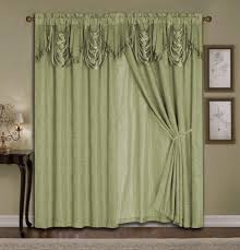 White Lace Valance Curtains Coffee Tables Drapes And Valances Window Treatments Curtains And