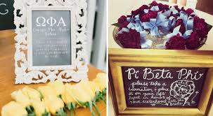sorority picture frames sweet on sorority wedding traditions