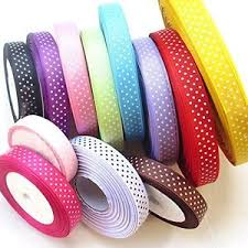 grosgrain ribbon bulk chenkou craft 24 yards 5 8 dot grosgrain ribbon total 12 colors mix