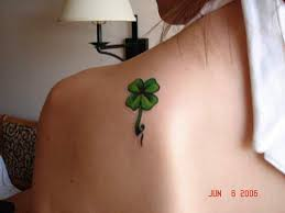 celtic knot four leaf clover tattoo tattooimages biz