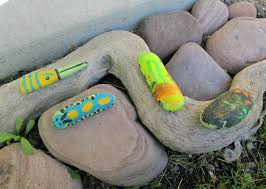 Painted Rocks For Garden by Fairy House Part Three