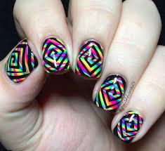 square swirl nail vinyls set of 78 glam my mani