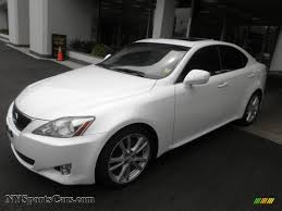 lexus white pearl 2007 lexus is 250 in starfire white pearl 050141 nysportscars
