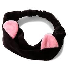 cat headband cat fashion fleece cat ear headband