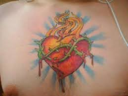 hearth tattoo 81 mind blowing heart tattoos on chest