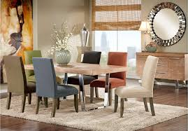 cindy crawford home san francisco ash 5 pc dining room with curry