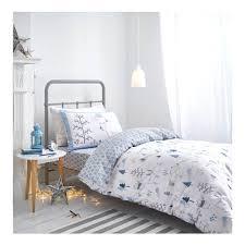 Woodland Duvet Buy Bianca Cotton Soft Nordic Print Duvet Cover Set At Mailshop Co