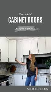 how to make your own kitchen cabinets step by step how to make diy cabinet doors without fancy router bits