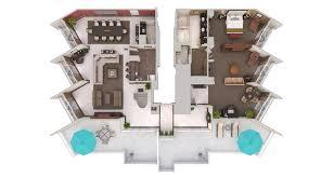 Champion Floor Plans Hotels La Jolla Hilton Torrey Pines 3d Floor Plans