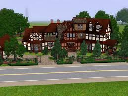 mansion layouts sims 3 pets xbox 360 house ideas