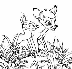 printable bambi coloring pages kids cool2bkids