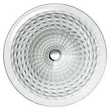 kohler kallos undermount glass bathroom sink in ice k 2361 b11