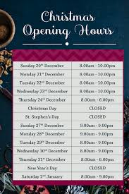 what time is closing on christmas eve christmas cards