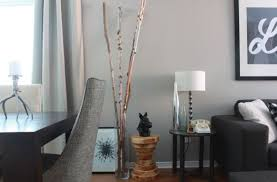 What To Put In Large Floor Vases Decoration Perfect Floor Vase With Artistic Look Near The Grey